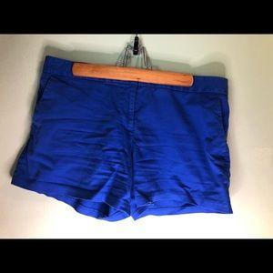 Royal Blue Express Dress Shorts